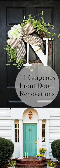 Your front door shows the world who you are!