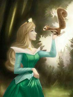 disney fairies present crown aurora movie art - Google Search