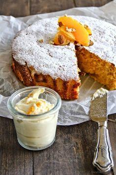 Ingredientes para la receta de pastel de Naranja -5 huevos. -12 cucharadas de zumo de naranja. -12 cucharadas de azúcar more...