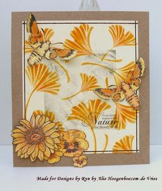 March 2015 - New stamps and stencils at DesignsbyRyn.com, card made for/with Designs by Ryn stamps and stencil, by Alie Hoogenboezem-de Vries