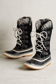 Sorel Joan of Arctic Knit Boots - anthropologie.com