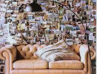 Decorare le pareti con post-it e immagini | Fare casa