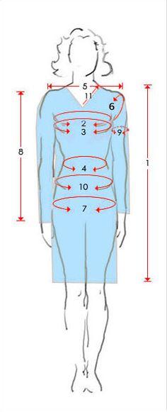 Salwar Kameez Measurement Form