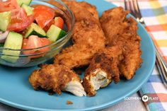 Ranch Fried Chicken Tenders are flavorful and simple to make and you'll probably only need to look at the recipe the first time you do it. Ranch Fried Chicken, Fried Chicken Tenders, Making Fried Chicken, Chicken Tender Recipes, Low Carb Chicken Recipes, Cooking Recipes, Turkey Recipes, Keto Chicken, Creamy Chicken