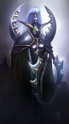 Maiev Shadowsong by Nyogtha-Art.deviantart.com on @DeviantArt
