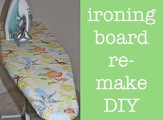 How To: Recover an ironing board