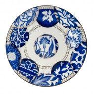 "Alberto Pinto Shanghai Buffet Plate 11.5""D"