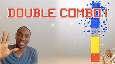 SqUARe-X Original puzzle game #5 - Double combo !  Aujourd'hui je vous apprend comment réaliser des doubles combo.