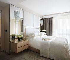 Dobles cortinas en dormitorio - Villalba Interiorismo (2)