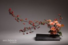 Autumn is a gorgeous season for Ikebana – Ilse Beunen