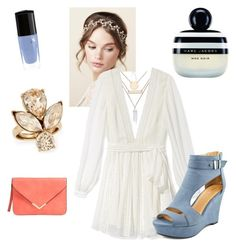 """""""Fairy Tale Simplicity"""" by makeupbymichelleh on Polyvore featuring Jules Smith, Rebecca Minkoff, Oscar de la Renta, Marc Jacobs and Lancôme"""
