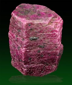 2,167 carat sharp blood red Ruby crystal - India