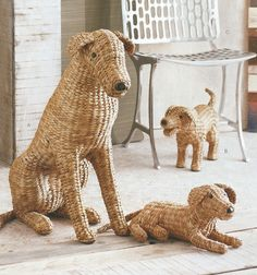 Woven Wally and pups! Adorable!
