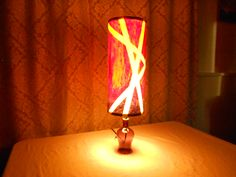 """This lamp is called """"Passion"""". One of a kind. Visit us at Strange Universe Art Lamps. Universe Art, Home Lighting, Custom Homes, Lamps, Table Lamp, Passion, Home Decor, Lightbulbs, Lamp Table"""