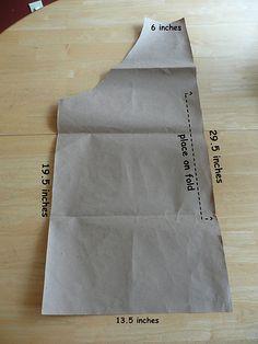 Simple Apron Pattern