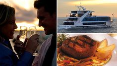 MY BABE & I HAVE TO TRY THIS!!!  Enjoy a Starlight Dinner Cruise of New York Harbor Aboard the Hornblower Infinity