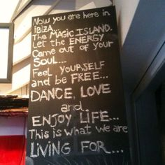 Enjoy life! This probably should be on the travel board, but I love the message which can be applied anytime, anywhere.