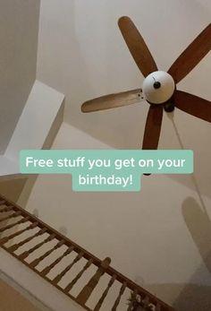 Freebies On Your Birthday, Free On Your Birthday, Birthday Cake For Him, Birthday Goals, Cute Birthday Gift, Birthday Party For Teens, Diy Birthday, Amazing Life Hacks, Useful Life Hacks