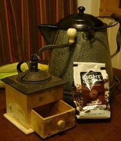 Eight O'Clock Coffee..... Ahhhh!!   dustyoldthings.com