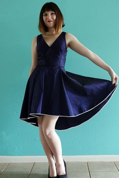 By Hand London Flora Dress by dixiediy, via Flickr