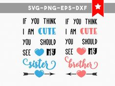 twin onesies twin svg file family quotes cute sister svg