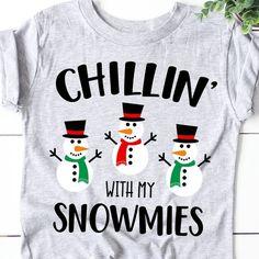 Chillin' with My Snowmies Svg, Snowman Svg, Kids Christmas Svg, Boy Wi – MamyLab Boys Winter Shirts, Xmas Shirts, Christmas Shirts, Cute Shirts, Xmas Pjs, Awesome Shirts, Christmas Pajamas, Family Shirts, Funny Shirts