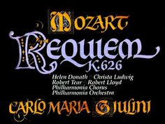 (Complete) Mozart Requiem, K. 626 - CM Giulini, 1979 - Philharmonia Orchestra (Indexed) - Vinyl LP What Is Classical Music, Mix Video, Mezzo Soprano, Conductors, Ludwig, Orchestra, Cry, Singing, Songs