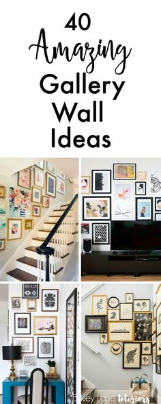 156 Best Gallery Wall Ideas And Layouts Images In 2019 House