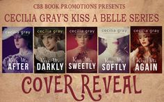 Book-o-Craze: Covers Reveal {Teasers & Giveaway} -- Kiss A Belle...