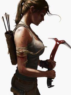 Tomb Raider by Matthew Sweeney