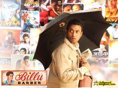 Billu Barber - Irrfan Khan #Bollywood Romantic Dialogues, Movie Songs, Movies, Irrfan Khan, Cheesy Jokes, Funny Clips, Barber, Bollywood, Films