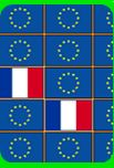 A lot of games to learn things about the countries of the EU, such as the flags...
