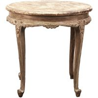 Petite Round French Accent Table