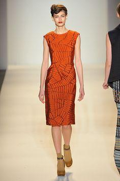 Lela Rose - Curse you, orange. Why can't I ever wear you?