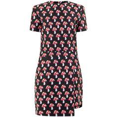 House Of Holland Black Mushroom Dress | Graziashop.com ($495) via Polyvore