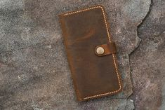Personalized leather phone wallet for iPhone 11 Pro Max | Etsy Real Leather Wallet, Iphone Leather Case, Iphone Wallet Case, Groomsmen Gifts Unique, Sewing Leather, Gifts For Your Boyfriend, Stitching Leather, Distressed Leather, Iphone Models