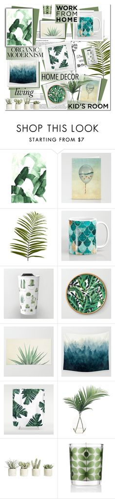 """""""CMBZ"""" by melodibrown ❤ liked on Polyvore featuring Pier 1 Imports, NDI, Allstate Floral and Orla Kiely"""
