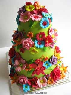 Flower Power By daan69 on CakeCentral.com