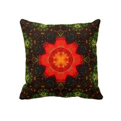 Krishna Mandala Pillow