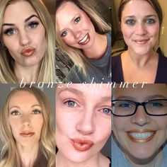 """Bronze Shimmer #senegence #Lipsense Follow and order on my facebook page - """" Forever Beauty by Elvia"""""""