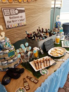 Beers And Cheers Birthday Party Theme 50th 30th Ideas For Men