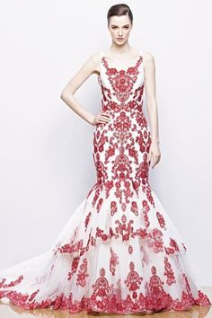 Color | Flamenco wedding dress