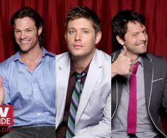 Sam, Dean & Castiel of Supernatural