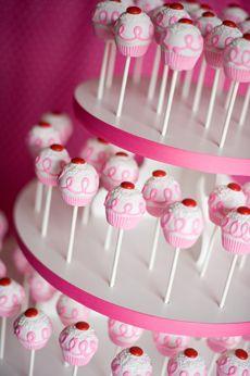 Cake pop presentation