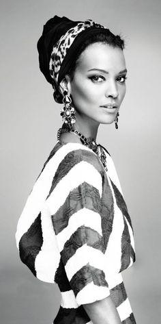 Liya Kebede is just so beautiful!