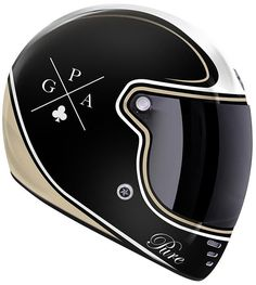 GPA Pure Crossword Helmet - FC-Moto English