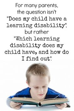The Transplanted Southerner: What Is a Learning Disability (and what isn't)?