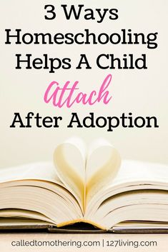 Attachment is an essential component of adoption for a child to thrive with a new family. Here are three ways homeschooling can accomplish this goal! Foster Baby, Adoption Quotes, Parenting Goals, Foster Parenting, Raising Godly Children, Open Adoption, Adopting A Child, Christian Parenting, New Baby Products