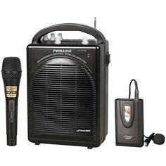 PylePro Pyle Portable PA System with Wireless Lavalier Mic