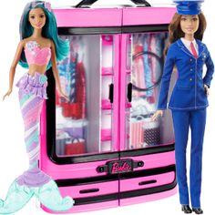 Check out the Barbie® Fab Fashion Closet - Pink at the official Barbie website. Explore the world of Barbie now! Fashion Closet, Girls Fashion Clothes, Girl Fashion, Pink Closet, Pink Wardrobe, Doll Clothes Barbie, Barbie Dress, Barbie Stuff, Barbie Playsets
